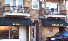 Rigid Storefront Awnings - Lakewood, Ohio