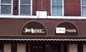 Rigid Awning w/ Decorative Valance - East Cleveland, Ohio