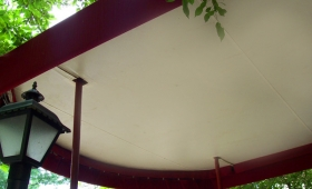 Entrance Canopy Underliner - Fairview Park, Ohio