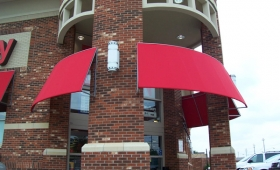 Rigid Window & Door Awnings - Strongsville, Ohio