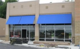 Rigid Storefront Awnings - Kent, Ohio