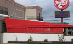 Restaurant Patio Awning - North Canton, Ohio