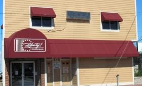 Rigid Storefront Awning with Entrance Canopy - Cleveland, Ohio