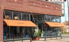 Rigid Storefront Awnings - Cleveland, Ohio