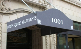 Entrance Canopy - Downtown Cleveland, Ohio