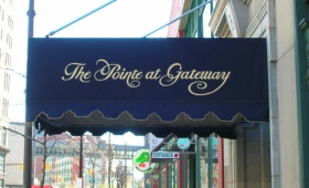 Entrance Canopy with Valance - Downtown Cleveland, Ohio