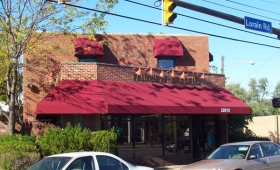 Rigid Storefront Awning - Fairview Park, Ohio