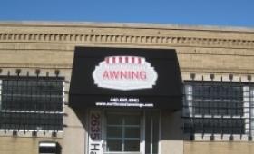 Rigid Entrance Awning - Cleveland, Ohio