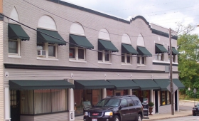 Rigid Storefront Awnings - Rocky River, Ohio