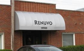 Convex Storefront Awnings - Rocky River, Ohio