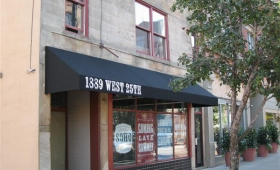 Rigid Storefront Awnings - Cleveland, Ohio