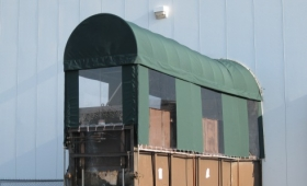Specialized Canopy with Curtains - Solon, Ohio