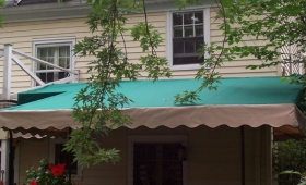 Stationary Patio Awning - Shaker Heights, Ohio