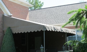 Stationary Patio Awning - Highland Heights, Ohio