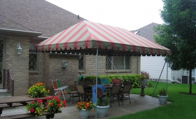 Free Standing Patio Awning - Highland Heights, Ohio