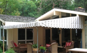 Stationary Patio Awning - Pepper Pike, Ohio