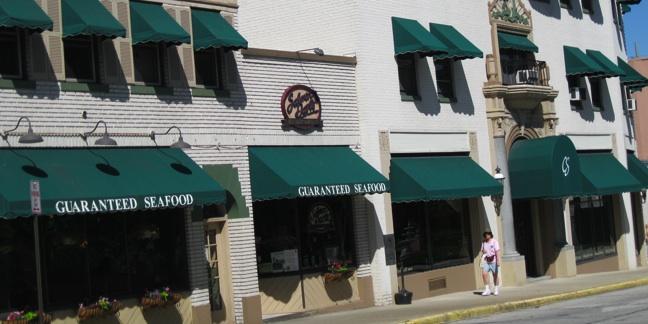 Rigid Storefront Awning