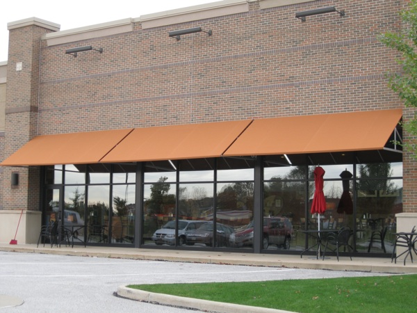 fabric awning canvas awnings cleveland akron canton ohio